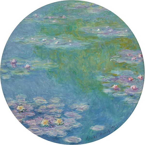 Monet | Water Lilies, 1908 | Giclée Canvas Print