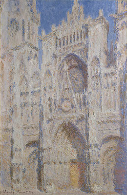 Rouen Cathedral: The Portal (Sunlight), 1894 | Monet | Painting Reproduction