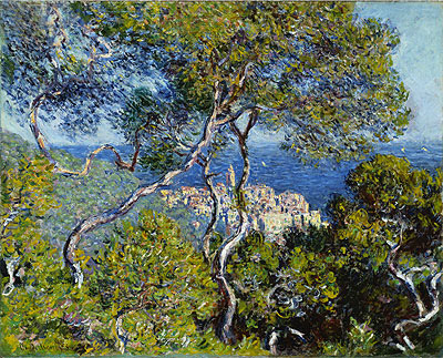 Bordighera, 1884 | Monet | Painting Reproduction