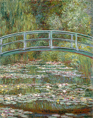 Bridge over a Pond of Water Lilies, 1899 | Monet | Painting Reproduction