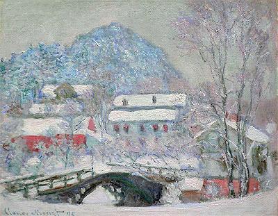 Sandvika, Norway, 1895 | Monet | Painting Reproduction