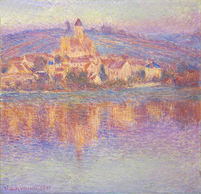 Vetheuil, 1901   Monet   Painting Reproduction
