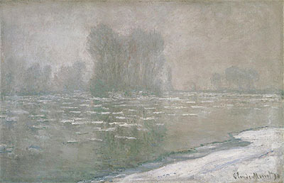 Morning Haze, 1894 | Monet | Painting Reproduction