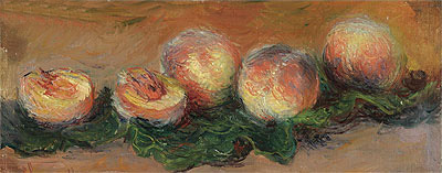 Peaches, 1882 | Monet | Painting Reproduction