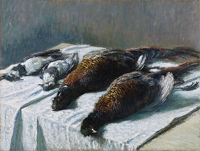 Still Life with Pheasants and Plovers, 1879 | Monet | Painting Reproduction