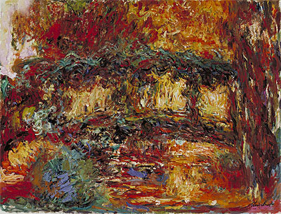 The Japanese Bridge, c.1923/25 | Monet | Painting Reproduction