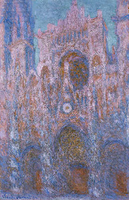 Rouen Cathedral: Setting Sun, 1894 | Monet | Painting Reproduction