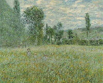 The Meadow (La Prairie), 1879   Monet   Painting Reproduction