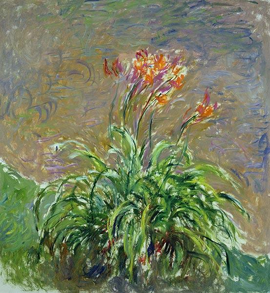Hemerocallis, c.1914/17 | Monet | Painting Reproduction