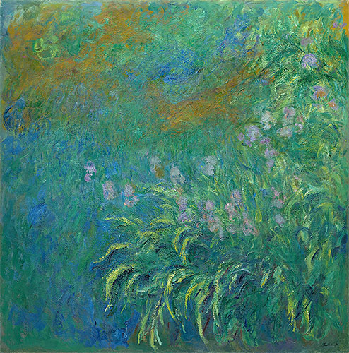Irises, 1914 | Monet | Painting Reproduction