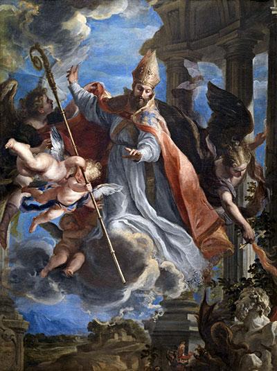 The Triumph of Saint Augustine, 1664 | Claudio Coello | Painting Reproduction
