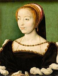 Louise de Rieux, c.1550 by Corneille de Lyon | Giclée Canvas Print