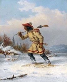 Cornelius Krieghoff | Following the Moose | Giclée Canvas Print
