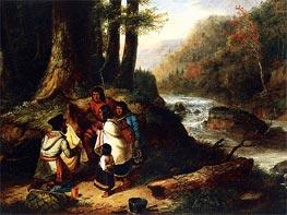 Cornelius Krieghoff | The Trader, 1850 | Giclée Canvas Print