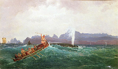 A Whaling Scene, Undated | Cornelius Krieghoff | Painting Reproduction