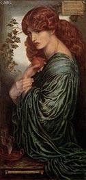Rossetti | Proserpine, c.1881/82 | Giclée Canvas Print