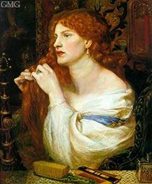 Rossetti   Aurelia (Fazio's Mistress), c.1863/73   Giclée Canvas Print