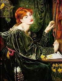 Rossetti | Veronica Veronese, 1872 | Giclée Canvas Print