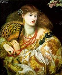 Rossetti | Monna Vanna, 1866 | Giclée Canvas Print