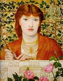 Rossetti | Regina Cordium, 1866 | Giclée Canvas Print