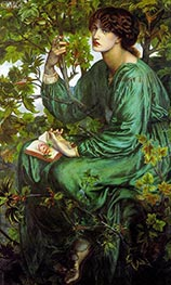 Rossetti | The Day Dream, 1880 | Giclée Canvas Print
