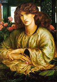 Rossetti | La Donna della Finestra (The Lady of the Window), 1879 | Giclée Canvas Print