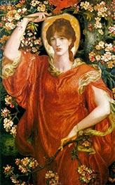 Rossetti | A Vision of Fiammetta, 1878 | Giclée Canvas Print