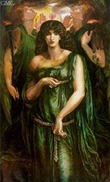 Rossetti | Astarte Syriaca (Syrian Astarte), c.1875/77 | Giclée Canvas Print