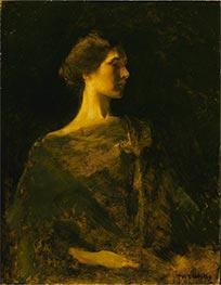Alma, c.1895/00 by Thomas Wilmer Dewing | Giclée Canvas Print