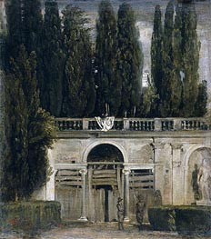 Velazquez | Villa Medici in Rome (Pavillion of Ariadne), c.1630 by | Giclée Canvas Print