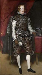 Velazquez | Philip IV in Brown and Silver | Giclée Canvas Print
