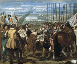 Velazquez | Surrender of Breda (Las Lanzas) | Giclée Canvas Print