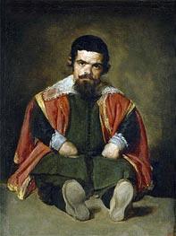 Velazquez | The Buffoon Sebastian de Morra | Giclée Canvas Print