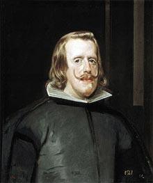 Velazquez | Felipe IV in Hunting Garb, c.1653 | Giclée Canvas Print
