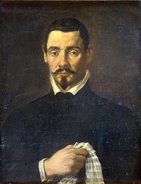Velazquez | Portrait of a Man, undated | Giclée Canvas Print