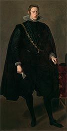 Velazquez | Philip IV, King of Spain, 1624 | Giclée Canvas Print