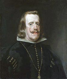 Velazquez | Philip IV of Spain, c.1656 | Giclée Canvas Print