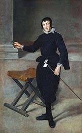 Velazquez | The Jester Calabazas, c.1631/32 | Giclée Canvas Print