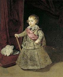 Velazquez | Prince Baltasar Carlos in Silver, 1633 | Giclée Canvas Print
