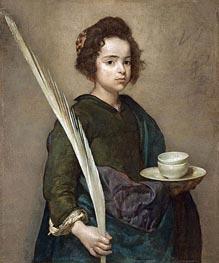 Velazquez | Saint Rufina, Undated | Giclée Canvas Print