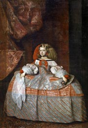 Velazquez | The Infanta Margarita de Austria | Giclée Canvas Print