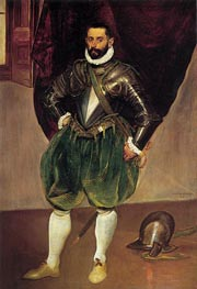 El Greco   Portrait of Vincenzo Anastagi, c.1571/76   Giclée Canvas Print