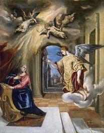 El Greco   The Annunciation, c.1570   Giclée Canvas Print