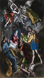 El Greco | Adoration of the Shepherds, c.1612/14 | Giclée Canvas Print
