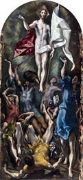 El Greco   The Resurrection, c.1597/00   Giclée Canvas Print