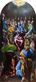El Greco   Pentecost, c.1600   Giclée Canvas Print