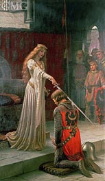 Blair Leighton | The Accolade | Giclée Canvas Print