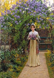 Blair Leighton | Lilac, 1901 | Giclée Canvas Print