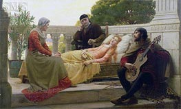 Blair Leighton | How Liza Loved the King, 1890 | Giclée Canvas Print