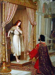 Blair Leighton | The King and the Beggar-Maid, undated | Giclée Canvas Print
